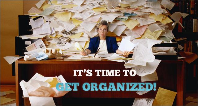 8 Ways To Get Organized In 2014